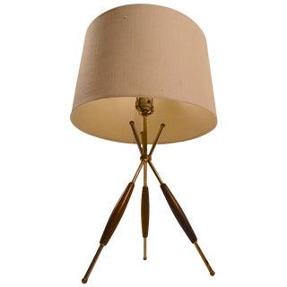 Thurston for Lightolier Tri Pod Table Lamp For Sale