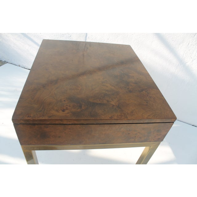 Tomlinson Burlwood End Table - Image 8 of 11