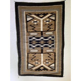 "1960s Vintage Navajo Pictorial Rug - 2'4'x3'8"" Preview"