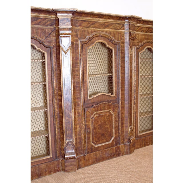 Mid-19th Century Italian Rococo Style Bookcase For Sale - Image 9 of 13