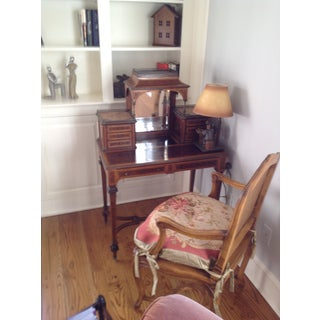 Antique Mahogany Banded Desk Preview