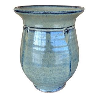 1960s Art Deco Style Studio Pottery Vase For Sale