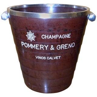 Rare French Art Deco Bakelite Champagne Bucket For Sale