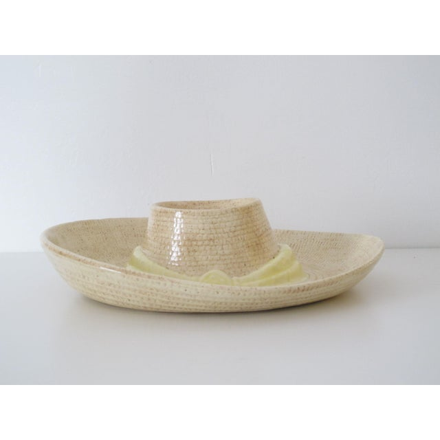 Lodge Sombrero Chip n' Dip Party Platter For Sale - Image 3 of 8