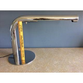 Robert Sonneman Chrome Desk Lamp - Circa 1970s Preview