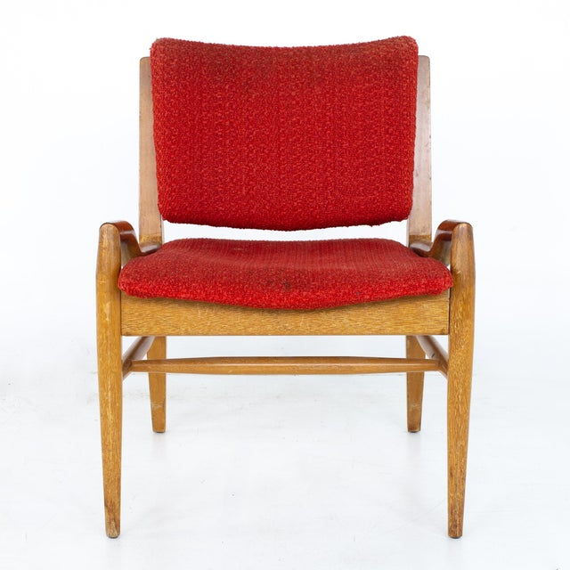 Mid 20th Century John Keal for Brown Saltman Mid Century Mahogany Dining Chairs - Set of 4 For Sale - Image 5 of 13