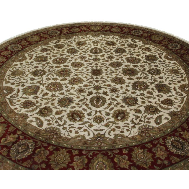 RugsinDallas 12 Feet Round Persian Style Hand Knotted Wool Rug - 12' X 12' - Image 2 of 2