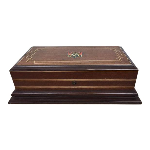 Vintage Cigar Humidor - Image 1 of 12