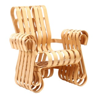 1990s Vintage Frank Gehry for Knoll International Power Play Chair For Sale