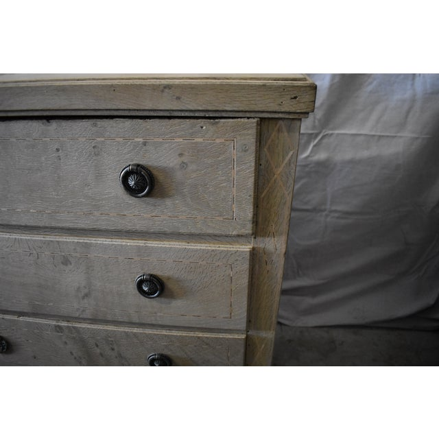 Early 19th Century Bleached Danish Chest For Sale - Image 5 of 7