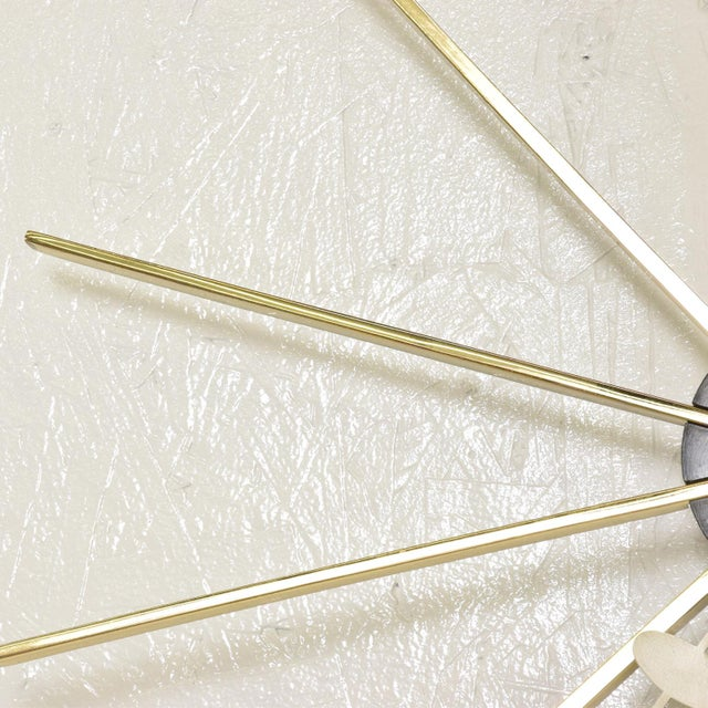 Mid Century Modern Wall Clock by George Nelson for Howard Miller For Sale In San Diego - Image 6 of 8