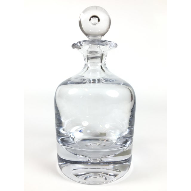 Pair of Orrefors Crystal Decanters