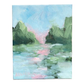 """""""Light on the Lake"""" Original Painting by Alice Houston Miles For Sale"""