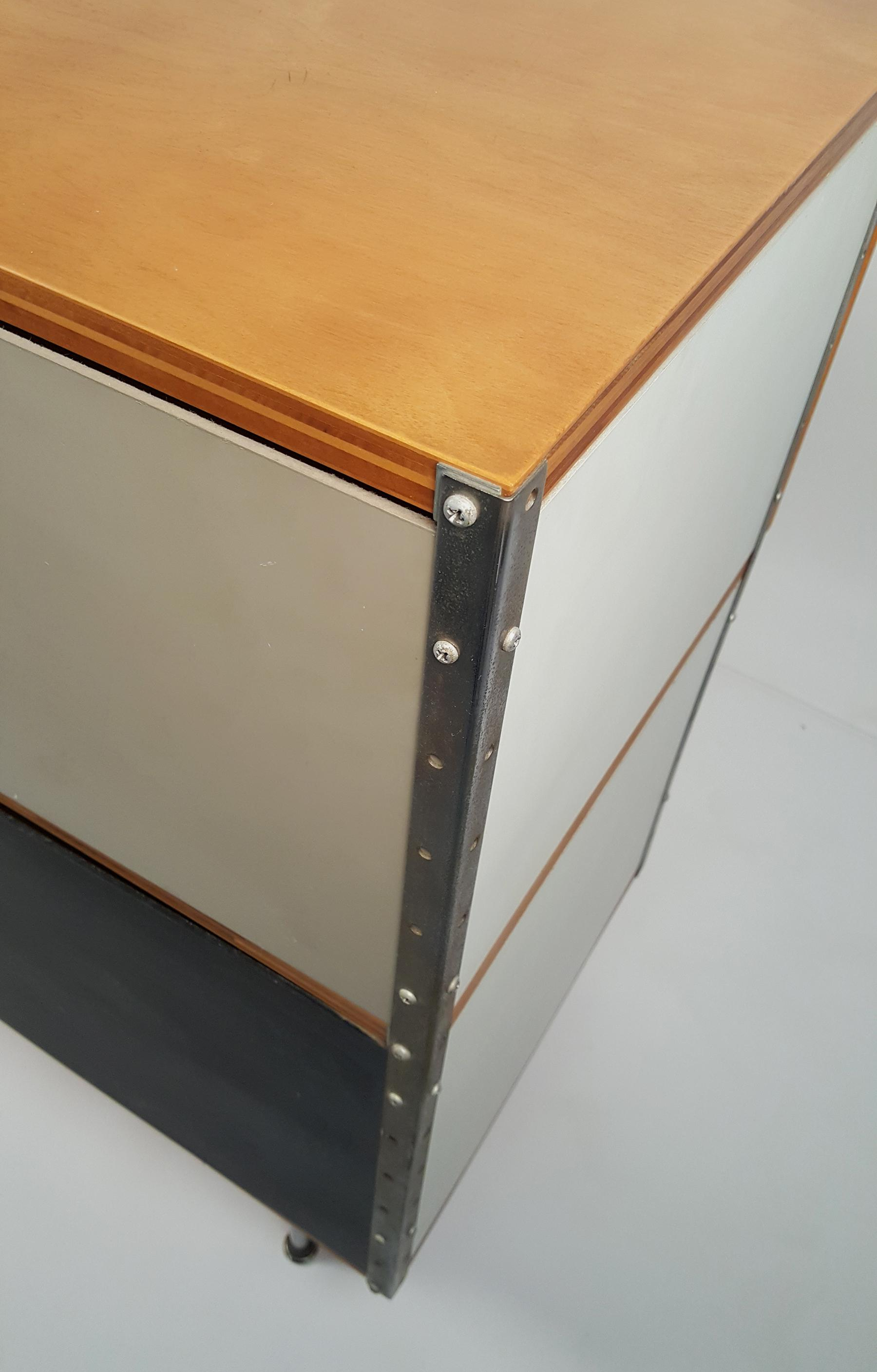 Early ESU 200 Storage Unit By Charles U0026 Ray Eames For Herman MIller   Image  10