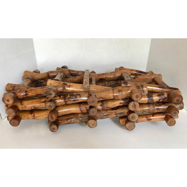 Bamboo Wine Rack - Image 3 of 4