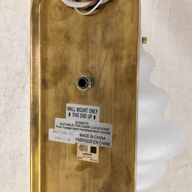 Visual Comfort Kelly Wearstler Tableau Wall Sconce in Antique Burnished Brass For Sale - Image 4 of 6