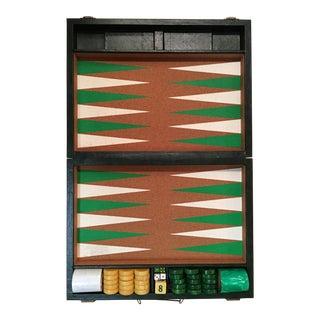 Vintage Crisloid Backgammon Set For Sale