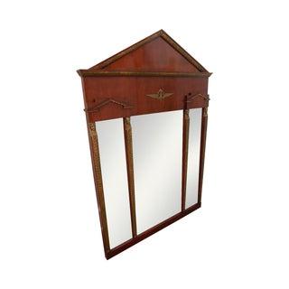 John Widdicomb Russian Neoclassical Gilt Mirror For Sale