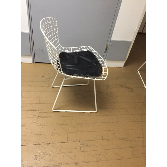 Harry Bertoia Mid-Century Modern Knoll Dining Chairs - Set of 4 For Sale - Image 4 of 9