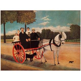 "1966 Henri Rousseau, ""M. Juniet's Pony Cart"" Lithograph From Milan For Sale"