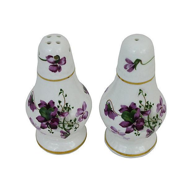 Lilacs Salt & Pepper Shakers - A Pair - Image 4 of 6