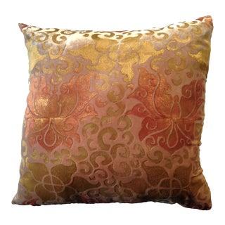 Venezia XIV Silk Velvet Pillow Cover For Sale