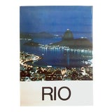 """Image of Vintage Mid Century 1960's Rare """" Rio De Janeiro """" Collector's Brazil Travel Poster For Sale"""