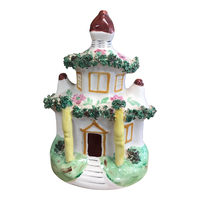 Staffordshire Cottage Figurine For Sale