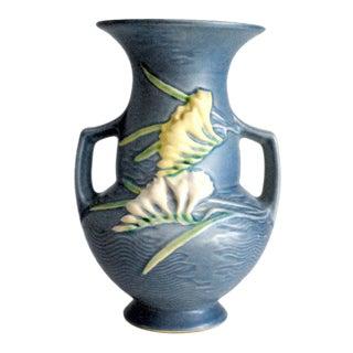 1945 Roseville Pottery Freesia Vase