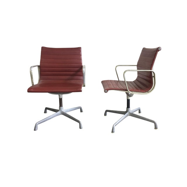 Mid-Century Modern Eames Swivel Chairs for Herman Miller - a Set of 6 For Sale - Image 3 of 12