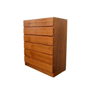 1960s Danish Modern Vinde Mobler Arne Wahl Iversen Walnut Dresser For Sale