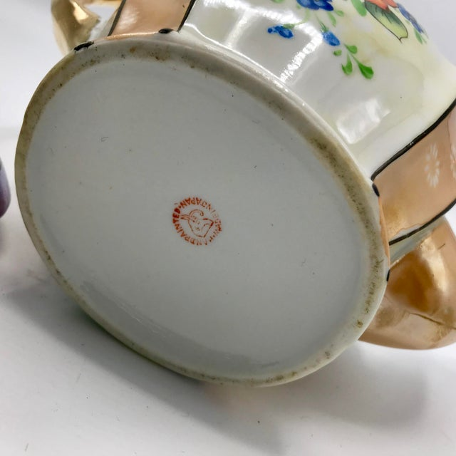 Antique Japanese Lustreware Teapot - Image 3 of 7