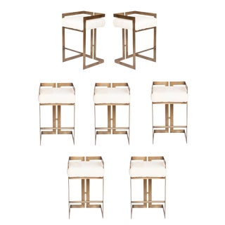 Murray Stools - Set of 7 For Sale