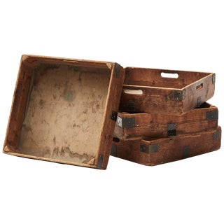 Early 20th Century Planter Boxes (Set of Four) For Sale