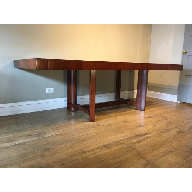 Mid-Century Restored Robjohn Gibbings Dining Table For Sale In Chicago - Image 6 of 8