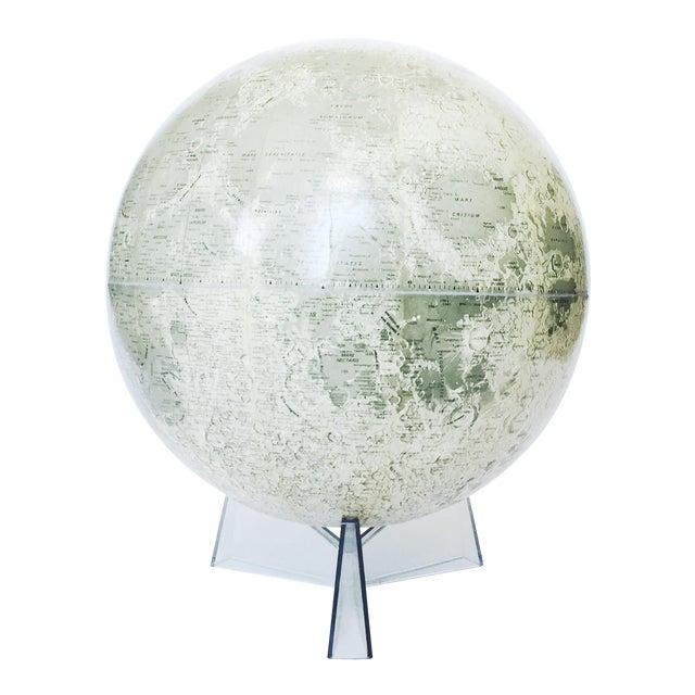 Mid Century Moon Globe - Image 1 of 5