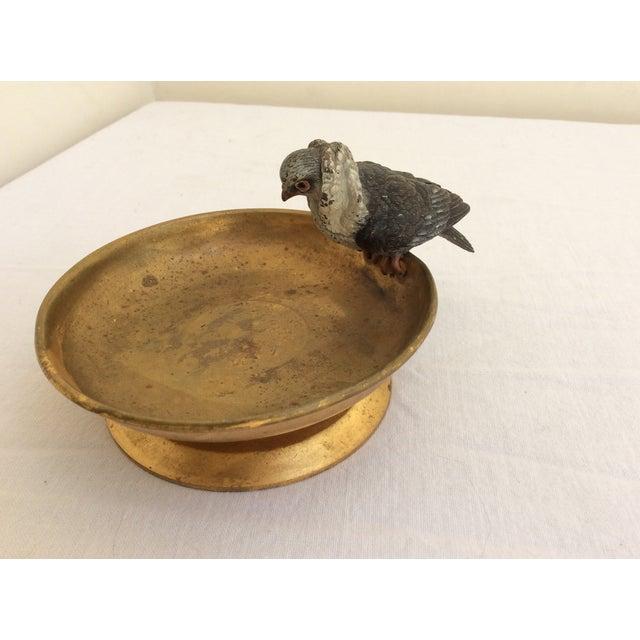 Vienna Bronze Pigeon For Sale - Image 4 of 5