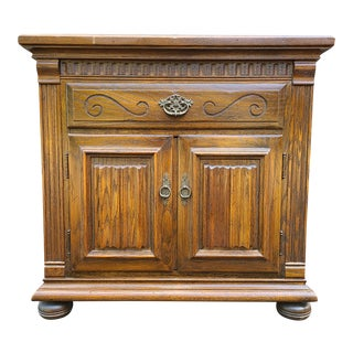 Ethan Allen Royal Charter Collection 1 Drawer Nightstand For Sale