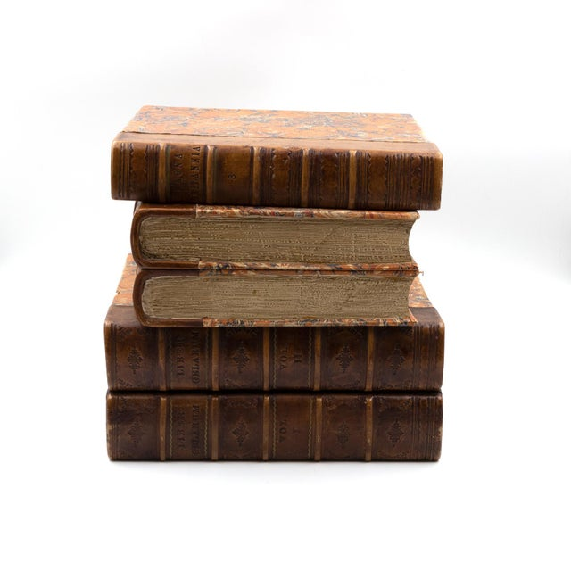Traditional Late Victorian Book Stack Concealed Wine Cooler, English Circa 1880 For Sale - Image 3 of 9