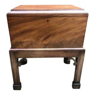 Antique Chippendale Tea Caddy For Sale