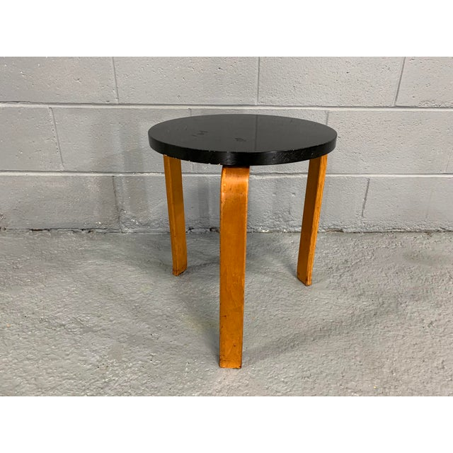 Alvar Aalto Birch Stool for Artek For Sale - Image 11 of 11