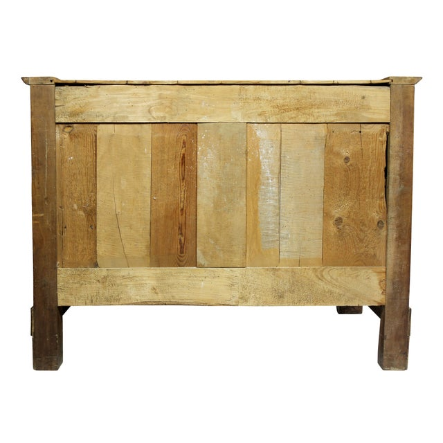 Charles X Burl Elm Commode For Sale - Image 4 of 13