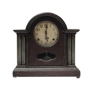 Vintage Shanghai European Style Pendulum Swing Clock For Sale