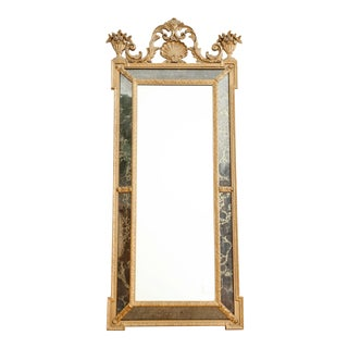 Vintage Oversize Louis XV Style Gold Gilt Rococo Mirror