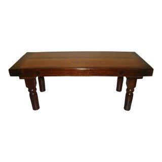 Custom Rustic Modern Coffee Table For Sale