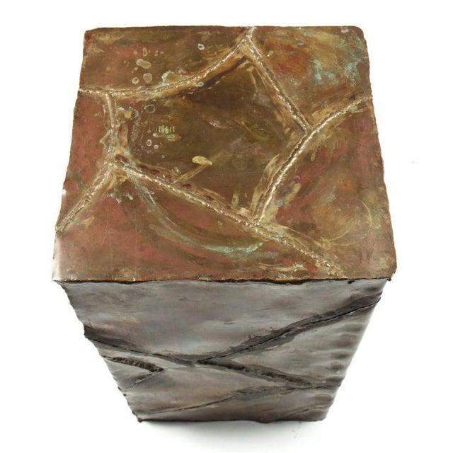 Silas Seandel Silas Seandel Brutalist Patchwork Column Pedestal For Sale - Image 4 of 8