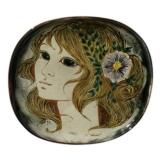 Flower Child Chelsea Pottery Charger