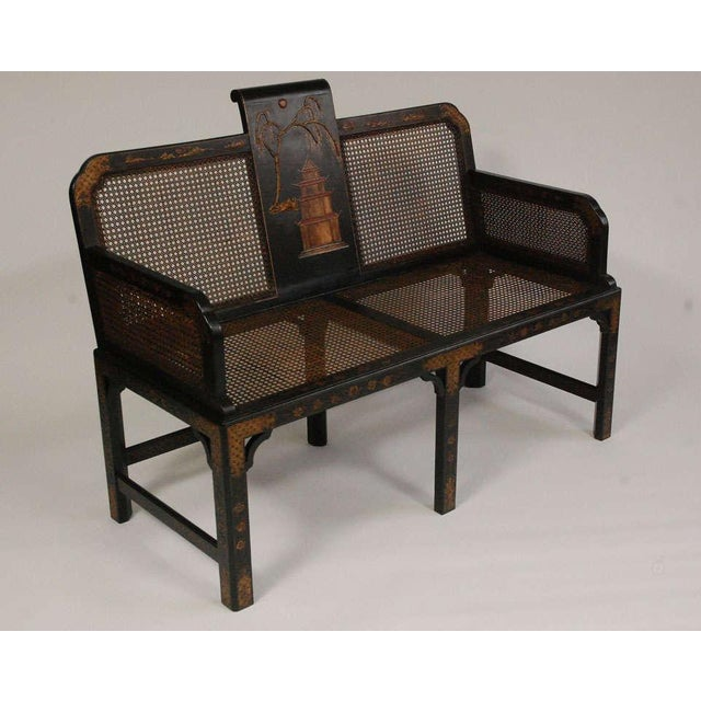 Late 19th Century Chinoiserie Seating Suite For Sale - Image 5 of 10