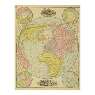 World Map, 1890