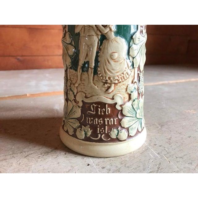 Country 4 Leaf Clover Beer Stein, Germany, Vintage Barware For Sale - Image 3 of 9